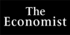 The Economist logo negative